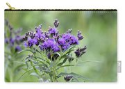 Wild Purple Carry-all Pouch