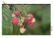 Wild Raspberrys Carry-all Pouch