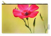 Wild Red Flower Carry-all Pouch