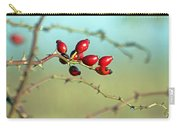 Wild Rose Hips Carry-all Pouch