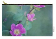 Wild Roses Carry-all Pouch by Priska Wettstein