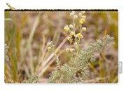 Wild Sage Wormwood Artemisia Figida Yellow Flower Carry-all Pouch