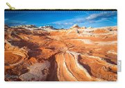 Wild Sandstone Landscape Carry-all Pouch by Inge Johnsson