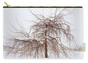Wild Springtime Winter Tree Carry-all Pouch
