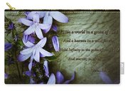 Wild Star Flowers And Innocence  Carry-all Pouch
