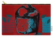 Wild Still Life - 0102b - Red Carry-all Pouch