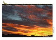 Wild Sunrise Over The Mountains Carry-all Pouch