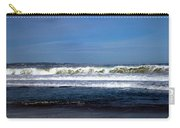 Wild Surf At Seaside Beach Carry-all Pouch