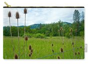 Wild Teasel In Nez Perce National Historical Park-id- Carry-all Pouch