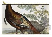 Wild Turkey Carry-all Pouch by Titian Ramsey Peale