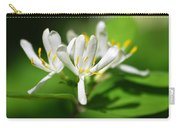 White Honeysuckle Flowers Carry-all Pouch