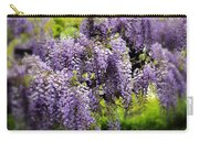 Wild Wisteria Carry-all Pouch