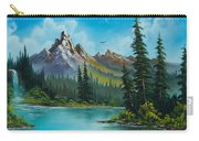 Wilderness Waterfall Carry-all Pouch by C Steele