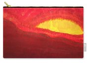 Wildfire Eye Original Painting Carry-all Pouch