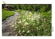 Wildflower Garden And Path To Gazebo Carry-all Pouch