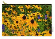 Wildflower Gold Carry-all Pouch