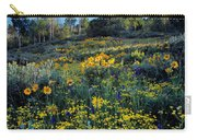 Wildflower Hillside Carry-all Pouch