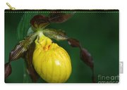 Wildflower Lady Slipper Carry-all Pouch