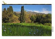 Wildflower Meadow At Descanso Gardens Carry-all Pouch by Lynn Bauer