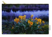 Wildflower Reflection Carry-all Pouch
