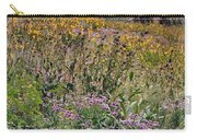 Wildflowers And Mountains  Carry-all Pouch