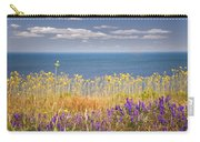 Wildflowers And Ocean Carry-all Pouch