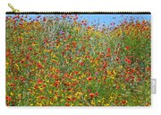 Wildflowers And Sky 2am-110541 Carry-all Pouch