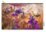 Wildflowers At Dawn Carry-all Pouch