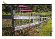 Wildflowers At The Fence Carry-all Pouch