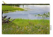Wildflowers By Heron Pond In Grand Teton National Park-wyoming Carry-all Pouch