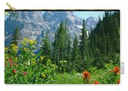 1m9372-v-wildflowers In Cascade Canyon, Tetons Carry-all Pouch