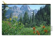 1m9371-h-wildflowers In Cascade Canyon, Tetons Carry-all Pouch