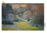 1b6430 Wildflowers In Pinnacles National Park Carry-all Pouch