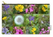 Wildflowers Mosaic Carry-all Pouch