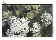 Wildflowers - White Yarrow Carry-all Pouch