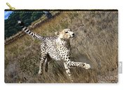 Wildlife Cheetah Carry-all Pouch