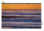 Wildwood Beach Golden Sky Carry-all Pouch