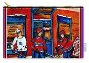 Wilenskys Hockey Art Posters Prints Cards Originals Commission Montreal Paintings Contact C Spandau Carry-all Pouch