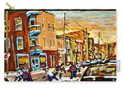 Wilenskys Hockey Paintings Montreal Commissions Originals Prints Contact Artist Carole Spandau  Carry-all Pouch
