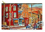 Wilenskys Paintings Hockey Art Prints Originals Commissions Contact Popular Montreal Artist Cspandau Carry-all Pouch