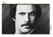 Will Ferrell Anchorman The Legend Of Ron Burgundy Drawing Carry-all Pouch
