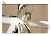 Will Rogers Informal Portrait Unknown Photographer Or Location 1924-2014  Carry-all Pouch