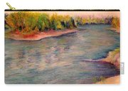 Willamette River Reflections - Morning Light Carry-all Pouch