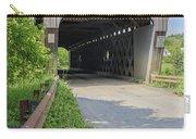 Willard Covered Bridge North Hartland Vermont Carry-all Pouch