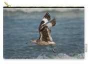 Willet In Flight Showing Wing Molt Carry-all Pouch