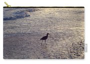 Willet In The Waves Carry-all Pouch