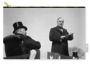William Mckinley Making His Inaugural Address Carry-all Pouch by War Is Hell Store