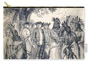 William Penns Treaty With The Indians Carry-all Pouch