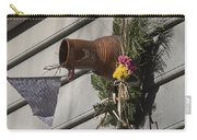 Williamsburg Bird Bottle 1 Carry-all Pouch by Teresa Mucha