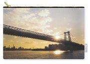 Williamsburg Bridge - Sunset - New York City Carry-all Pouch